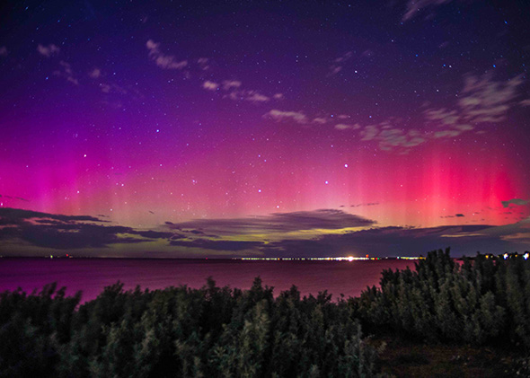 Aurora from Melbourne, Australia.