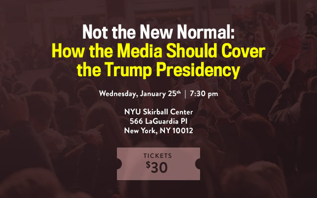 Not the New Normal Skirball 1.25 Event