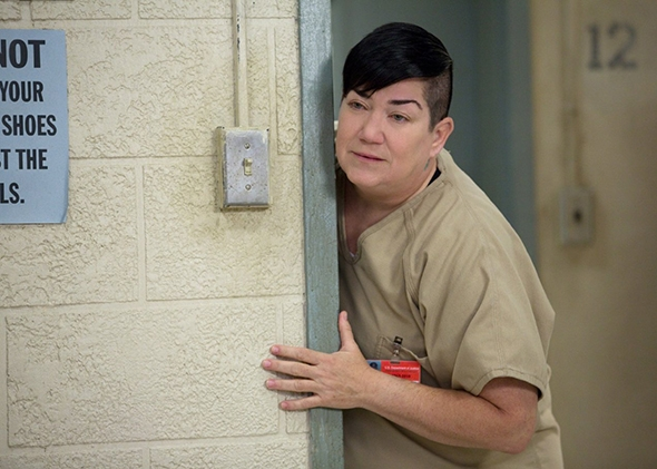 Lea DeLaria as Big Boo in Orange Is the New Black.