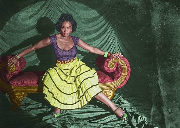 Angela Bassett as Deiree Dupree.