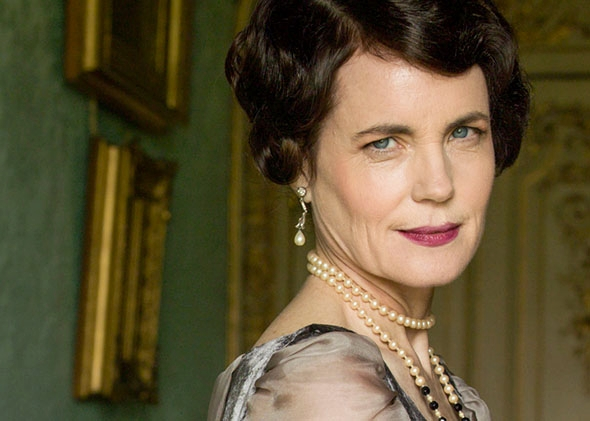 Elizabeth McGovern as Cora in Downton Abbey