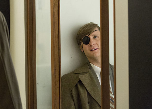 "Kenneth ""Ken"" Cosgrove (Aaron Staton) in Mad Men."