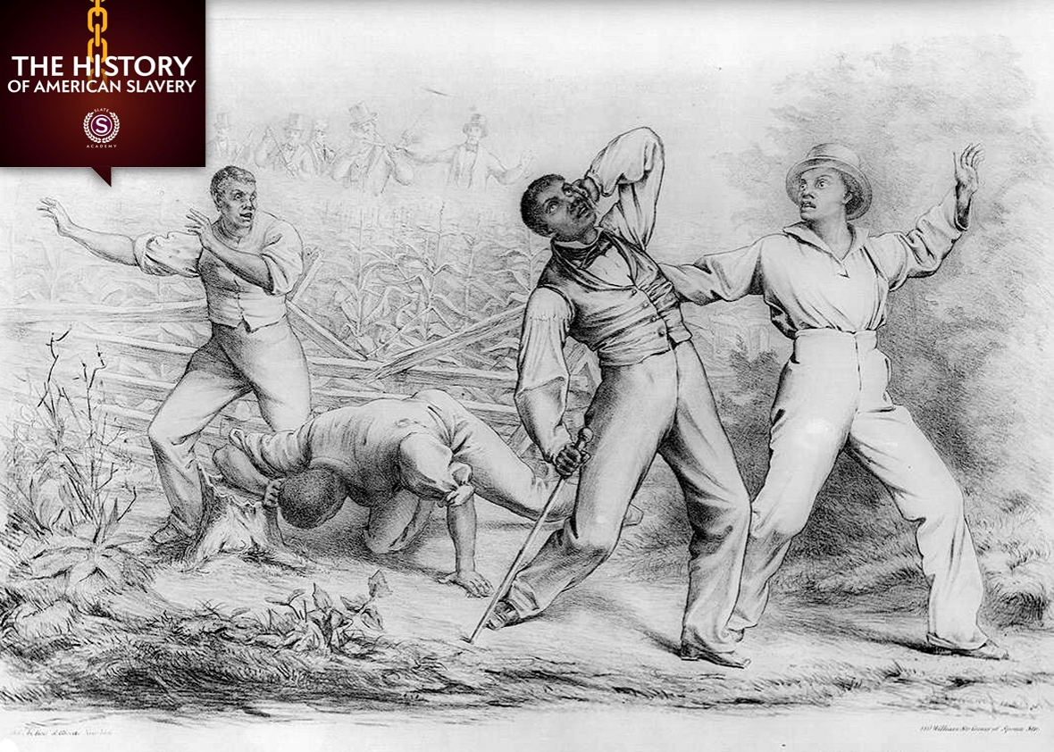 Effects of the Fugitive-Slave-Law, 1850.