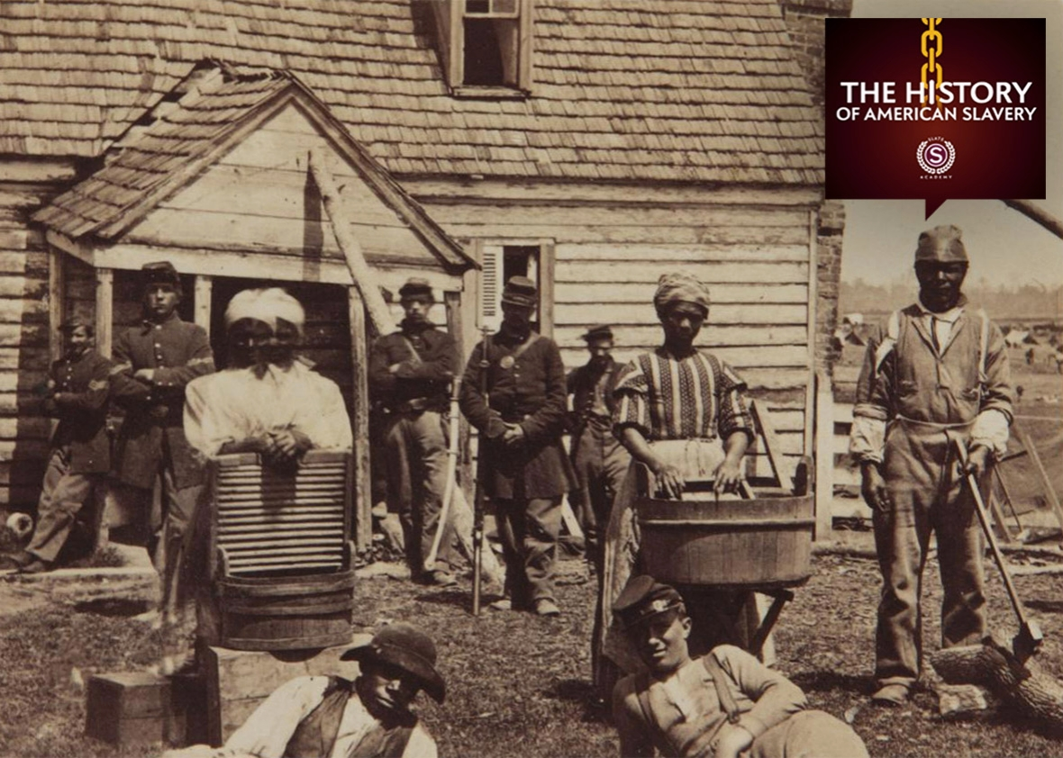 the history of slavery in america Sample of slavery in america essay (you can also order custom written slavery in america essay.