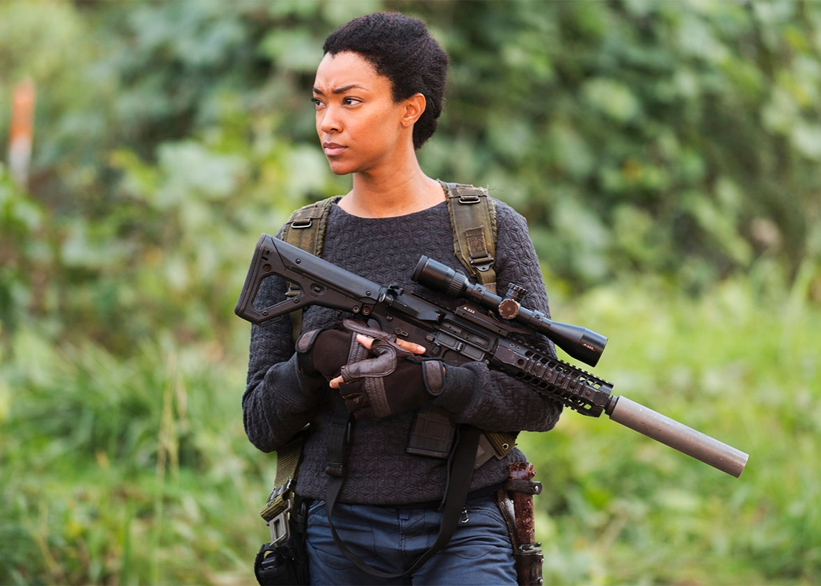 Sonequa Martin-Green as Sasha.
