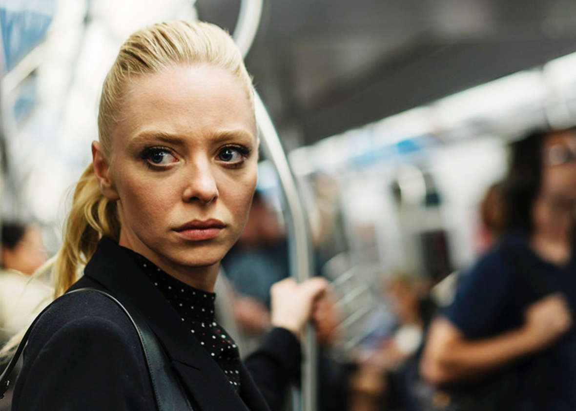 Portia Doubleday as Angela Moss in Mr. Robot.