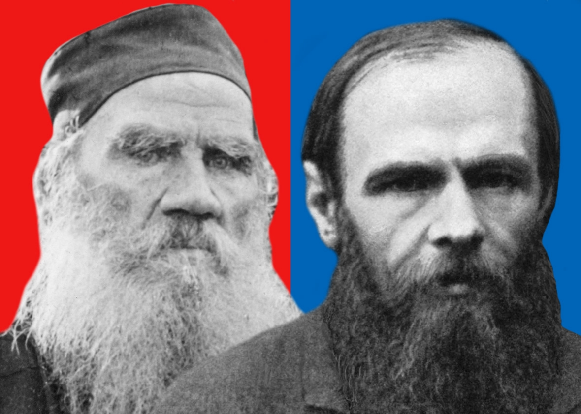 tolstoy and dostoevsky relationship quiz