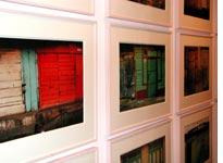 Wall of Sean Scully photographs
