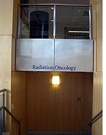 The radiation oncology department