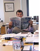 Mark Whitaker peruses the daily papers