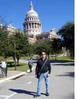 Me at the Texas State Capitol building