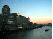 On-the-way-to-Waterloo sunset, from Blackfriars Bridge
