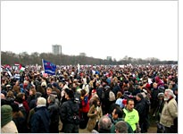 The biggest British political protest ever