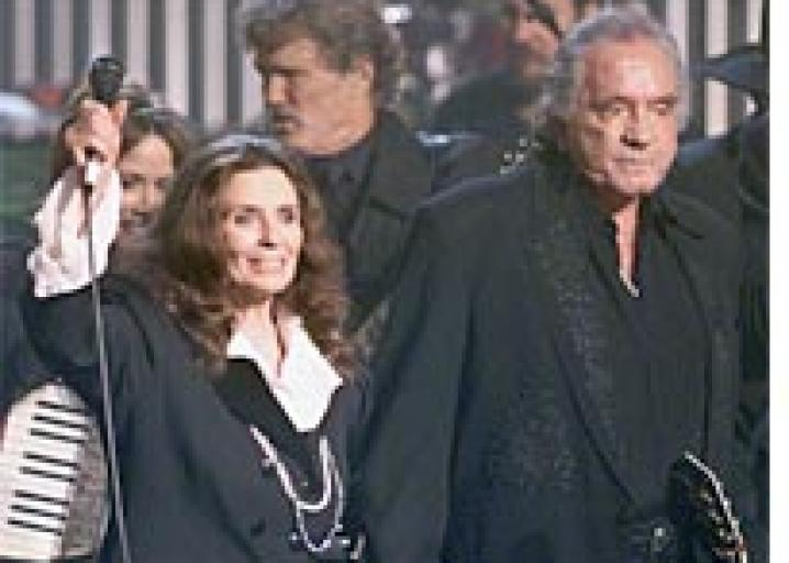 June Carter Cash, the den mother of country music.