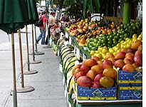 The fruit stand where I bought my fruit