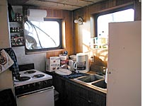 My spotless galley