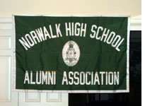 Norwalk High School alumni flag
