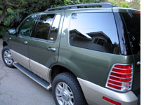 The intimidating Mercury Mountaineer