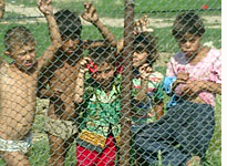 Roma children from Oradea, near the Hungarian border