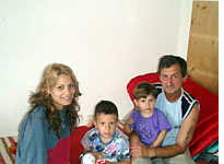 Social workers visit the Zengs, an at-risk family living in the Transylvanian city of Sibiu