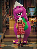 Learning to like Barney