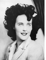 Elizabeth Short. Click image to expand.