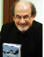 Salman Rushdie. Click image to expand.