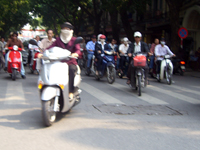 Hanoi traffic. Click image to expand.