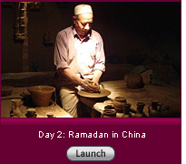 Click here for a slide show on Day 2: Ramadan in China.