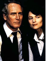 Paul Newman and Charlotte Rampling in The Verdict.