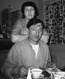 Photograph of Julia and Peter Lakavage.