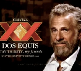 the quirky genius of the dos equis ad campaign
