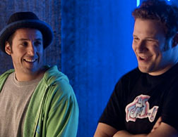 Adam Sandler and Seth Rogen in Funny People. Click image to expand.