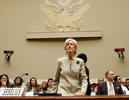 Health and Human Services Secretary Kathleen Sebelius. Click image to expand.