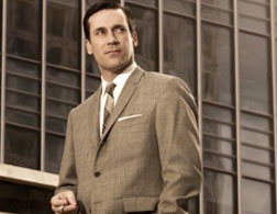 Jon Hamm as Don Draper in Mad Men. Click image to expand.