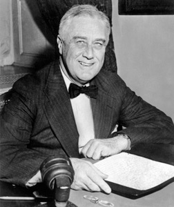 President Franklin D. Roosevelt. Click image to expand.