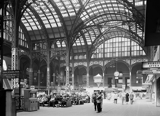 The old Penn Station. Click image to expand.