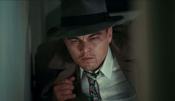 Leonardo DiCaprio as Teddy Daniels in Shutter Island.
