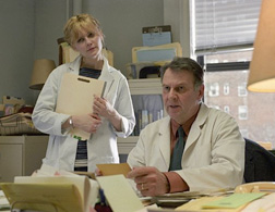 Dr. Howard Mierzwiak, the memory doctor in Eternal Sunshine of the Spotless Mind. At the request of two distraught lovers, he erased their memories of their relationship. Click image to expand.