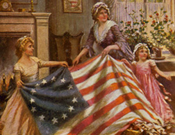 Betsy Ross. Click image to expand.
