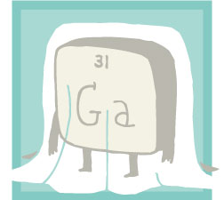 Gallium it proved that dmitri mendeleev father of the periodic illustration by alex eben meyer urtaz Gallery