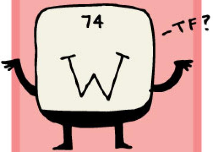 Tungsten Theres No W In Tungsten Why Do Some Elements Have Such