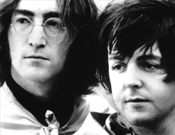 John Lennon And Paul McCartney Click Image To Expand