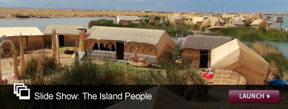 Click here to launch a slideshow on the island people.