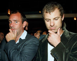 'South Park' creators Trey Parker (L) and Matt Stone.