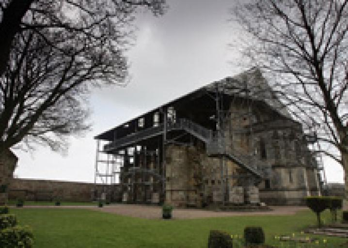 The real Da Vinci Code: Rosslyn Chapel's stone cubes may
