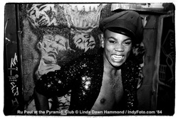 Before RuPaul Andre Charles was known as RuPaul by the world, he was making New York's Pyramid Club an interesting place.