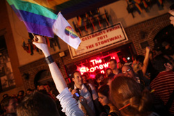 Stonewall Inn celebration. Click to expand image.