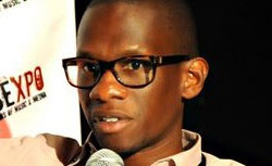 Troy Carter, business manager for Lady Gaga