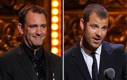 Trey Parker and Matt Stone. Click image to expand.